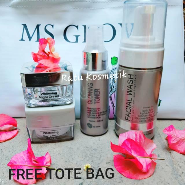 Ms Glow Whitening Series Original Bpom Ms Glow Cantik Skincare Shopee Indonesia