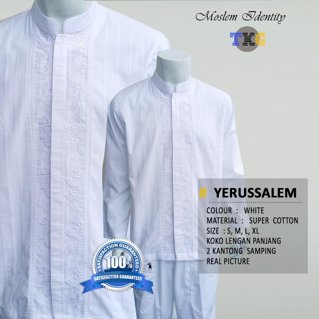 Baju Koko Bordir Lengan Pendek Panjang Hizam Al Hakim Setelan Ampamp Celana Jeans Lr 118c Quality Premium Shopee Indonesia