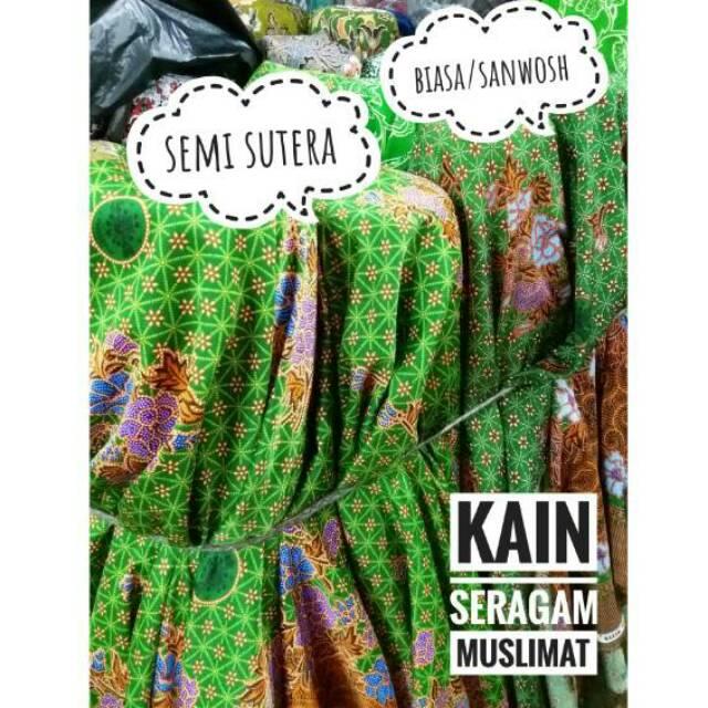 Kain Seragam Muslimat Nu Harga Per Meter Kain