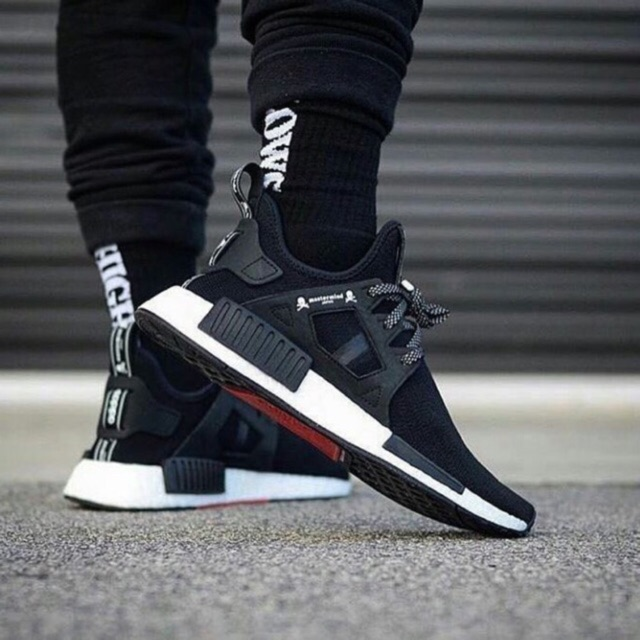 96bb124c2 Sepatu Adidas Nmd XR1 Mastermind Black White Size 40-45 Premium Quality  Made In Vietnam With Box