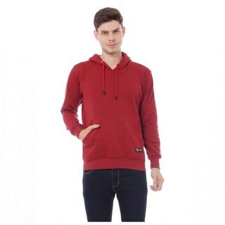 Sweater Pria Leemoes Beludru Panas Musim Gugur Berkerudung Dingin Remaja Memakai Versi Korea Trend