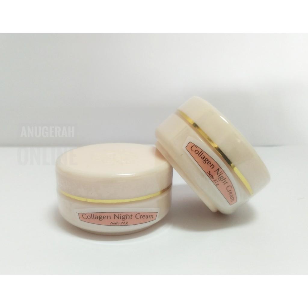 Krim Muka The Face Collagen Lightening Day Night Cream Plus Meco 4gr Vitamin E 50gr Shopee Indonesia