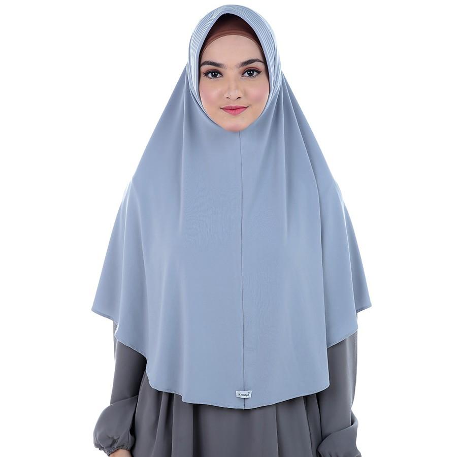 Atteenahijab Aulia Nadhira Shopee Indonesia Aaulia Isaura Ungu Tua