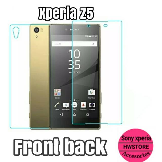 Sony Xperia Z1 Mini Compact Tempered Glass Belakang Saja Back Only   Shopee Indonesia