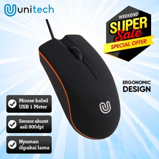Optical Mouse Wired USB 800DPI - M20 - Black