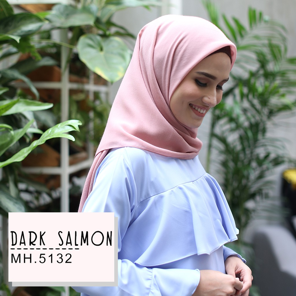 Hijab Aulia Shopee Indonesia Atteenahijab Isaura Coktu