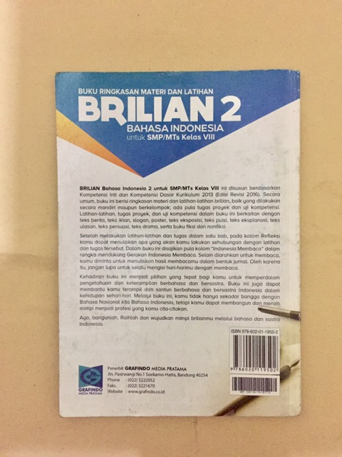 Kunci Jawaban Buku Media Autentik Bahasa Indonesia Kelas 8 Ilmusosial Id