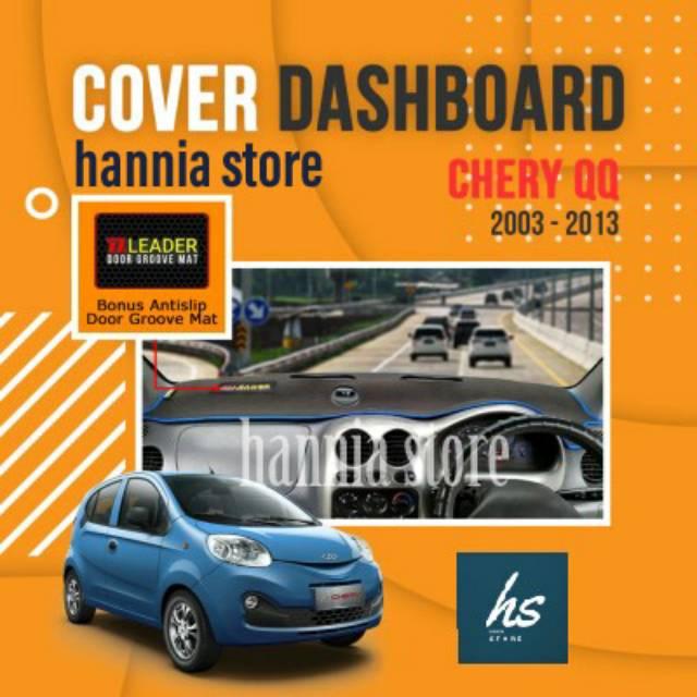 Aksesoris Interior Karpet Dashboard Mobil Chery Qq Tahun 2003 2013 Shopee Indonesia