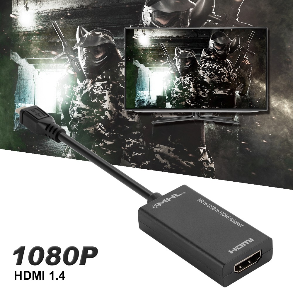Mhl Micro Usb To Hdmi A V Tv Adapter Kabel Pendek Untuk Htc 64951 Sony Samsung Hdtv Shopee Indonesia
