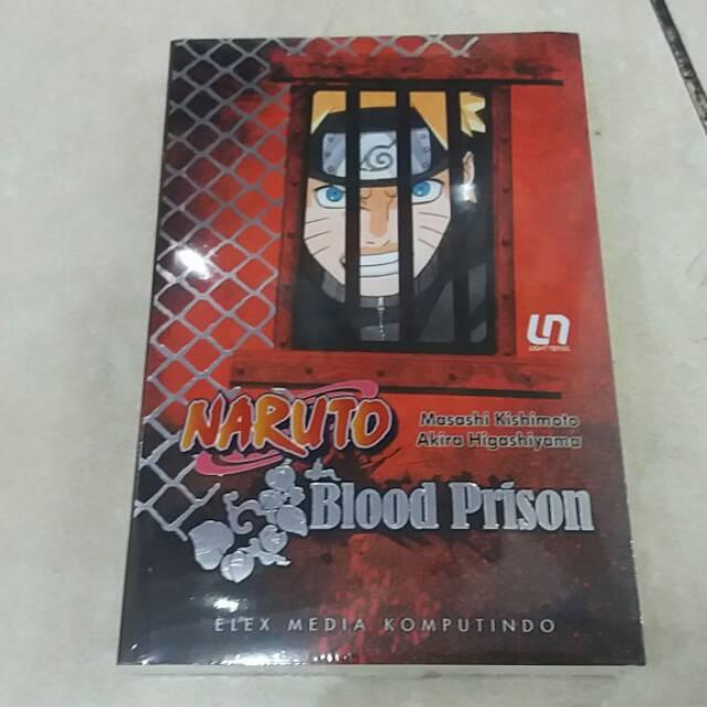 Light Novel Naruto Blood Prison Shopee Indonesia