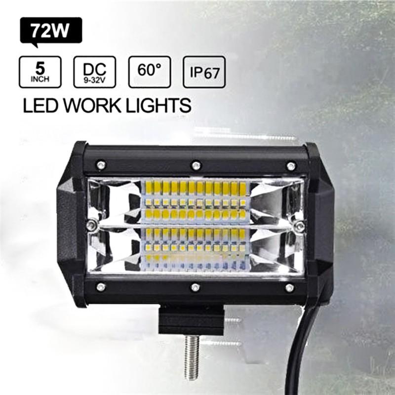 Lampu Sorot Kerja LED 7 Inci Untuk Lampu Kendaraan ATV Offroad SUV ATV Offroad 4WD 216w 8D 21600lm   Shopee Indonesia