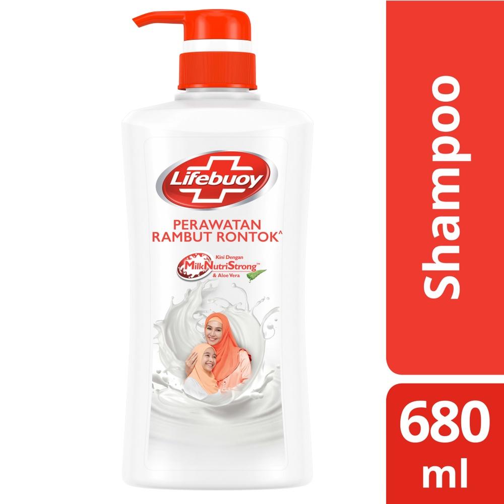 Lifebuoy Shampoo Anti Hairfall 680 Ml - Shampoo Anti Rambut Rontok, Perawatan Rambut Rontok