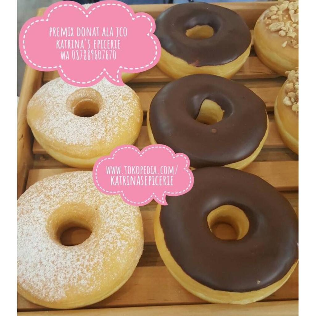 Jual Promo Premix Donat Ala Jco Tepung Donut Harga Promo