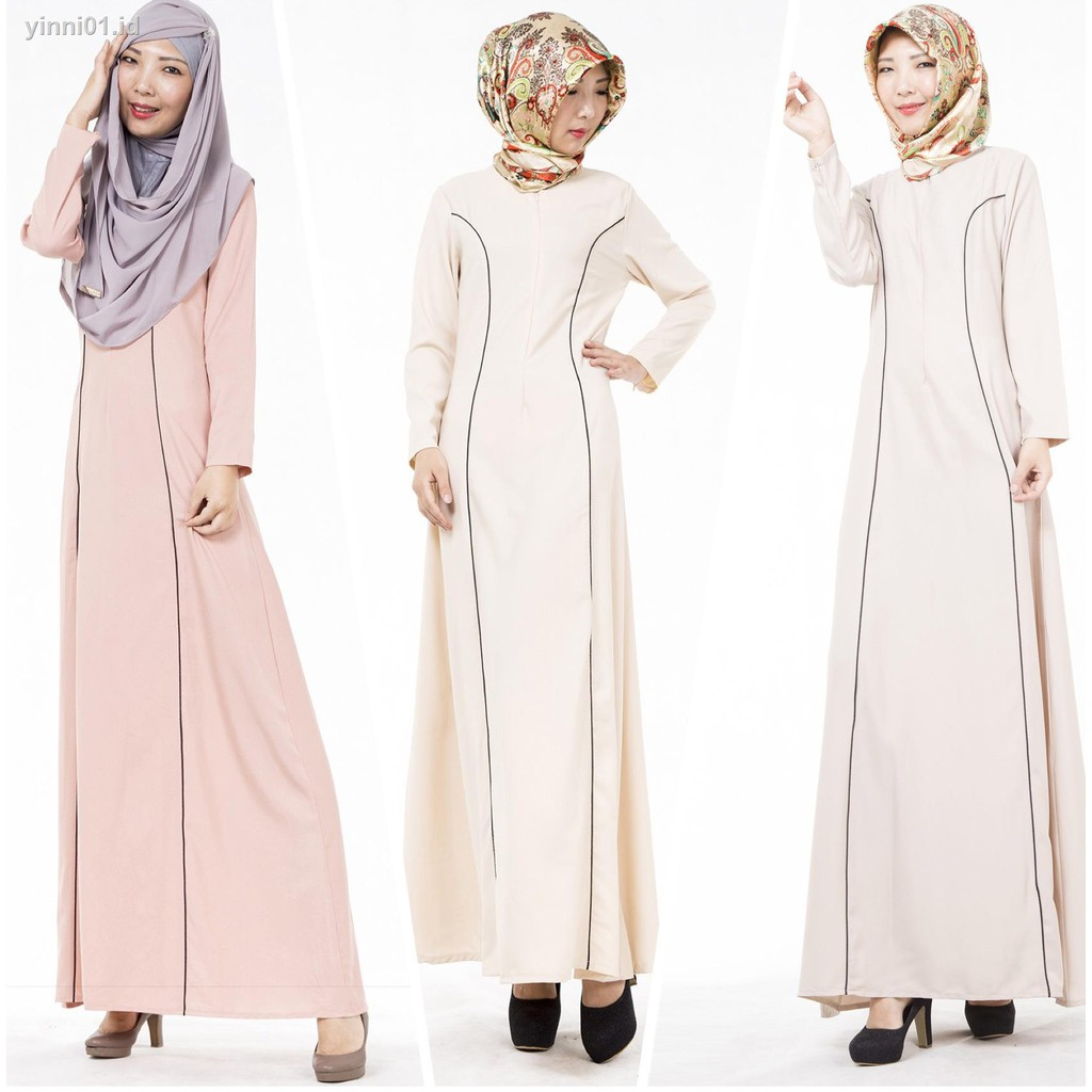 gamis✇❅New Muslim dress in dubai the Middle East foreign trade