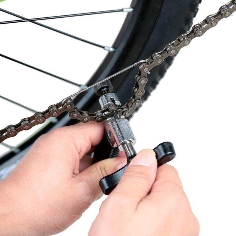 RockBros Portable Bicycle Bike Steel Chain Splitter Cutter Repair Breaker Tool