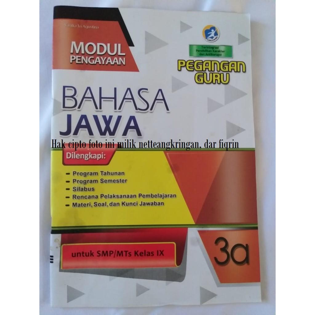 Buku Pegangan Guru Smp K13 Bahasa Jawa Semester 1 Kelas 7 8 9 Revisi 2017 2018 Shopee Indonesia
