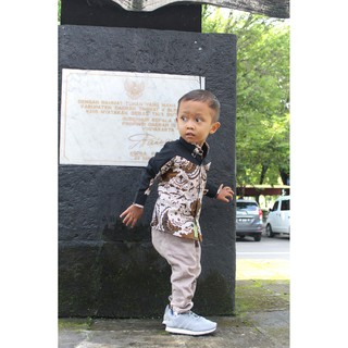 Kemeja Batik Anak Laki Laki Baju Batik Anak Modern Baju Batik Anak