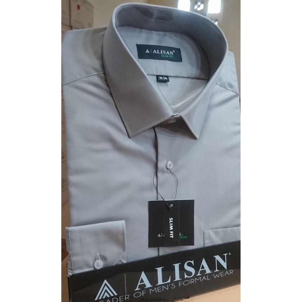 ALISAN Original Kemeja Polos SLIM FIT Lengan Panjang // ASSORTED PLAIN COLOR //
