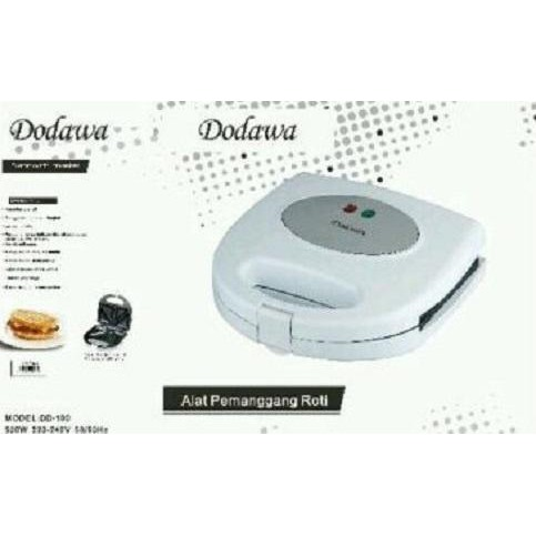 PHILIPS Sandwich Toaster HD2393 - Putih .