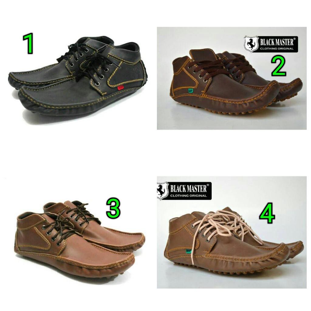 Sepatu Casual Black Master High ARL DC Pria Murah - Sneakers - Santai- Kets   2375ab7944