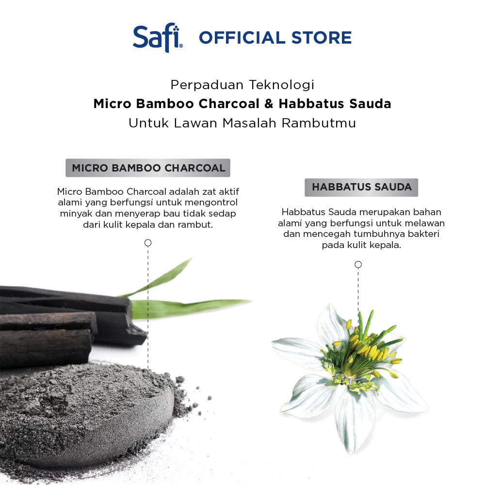 Safi Hair Xpert-Anti Dandruff Shampoo 160gr - Perawatan Rambut-3