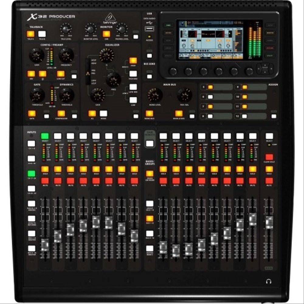 BEHRINGER MIXER AUDIO X32 PRODUCER DIGITAL MIXER