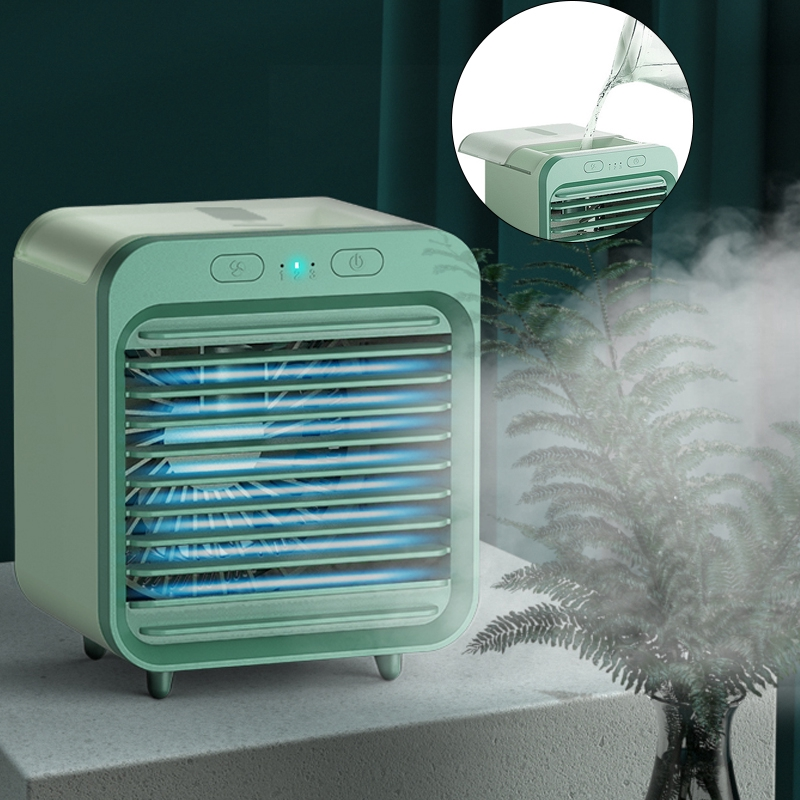 Aw Small Fans Usb Mini Air Cooler Air Conditioner Home Use Office Use Portable Mini Air Conditioner Kipas Angin Sejuk Air Cond Aircond Shopee Indonesia