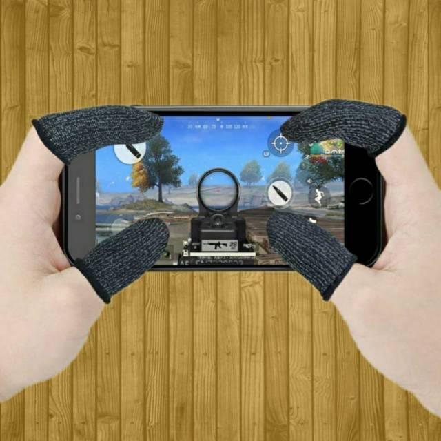 Game Sarung Jempol Jari Tangan Touchscreen Anti Keringat Game Handphone Shopee Indonesia