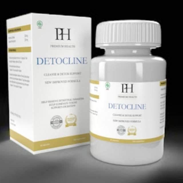 Detocline - Detocline Obat Parasit Asli Alami Berkualitas Tinggi