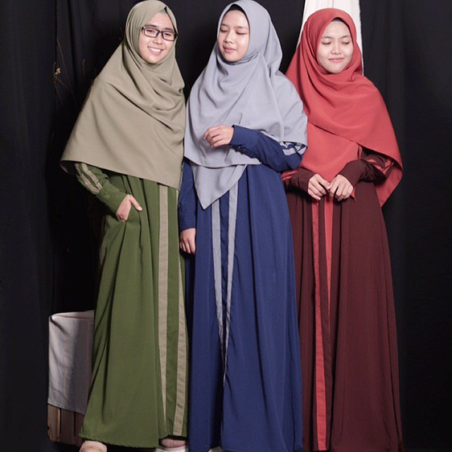Set Tahajud Daily Sudah Satu Set Dg Khimar By Hijab Alila Shopee Indonesia