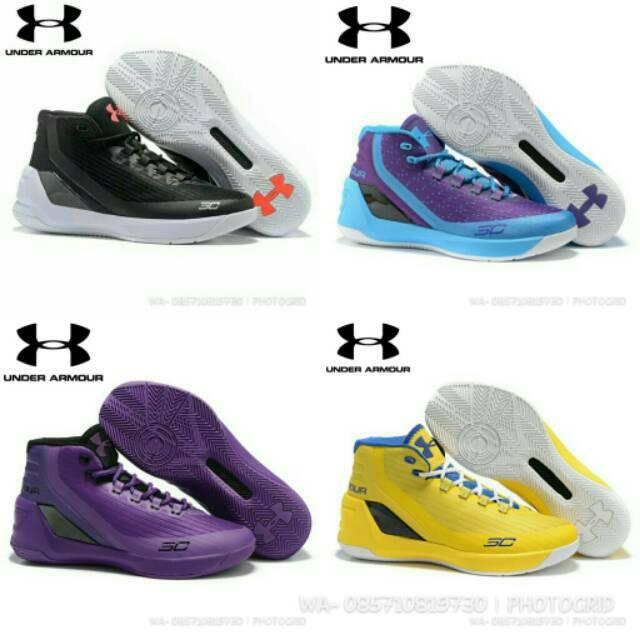 Underarmour Curry 2   Sepatu Olahraga   Sepatu Basket  7b318864a5