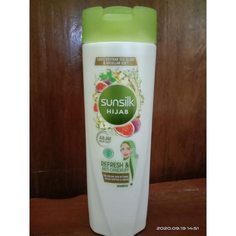 Sunslik Shampoo 170 ml & 340 ml-Hijau hijab