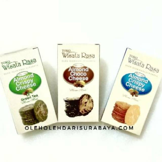 Almond Crispy Wisata Rasa Oleh Oleh Khas Surabaya Shopee Indonesia