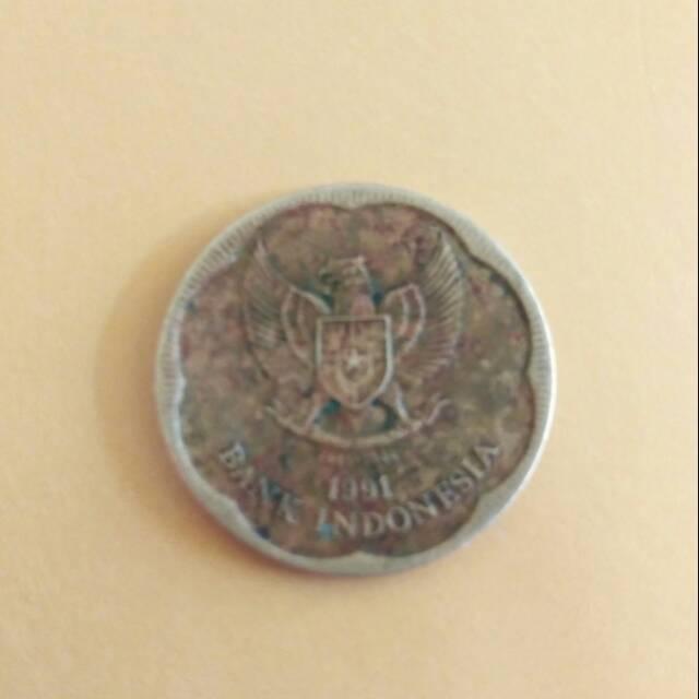 Uang koin 500 melati Tahun 1991