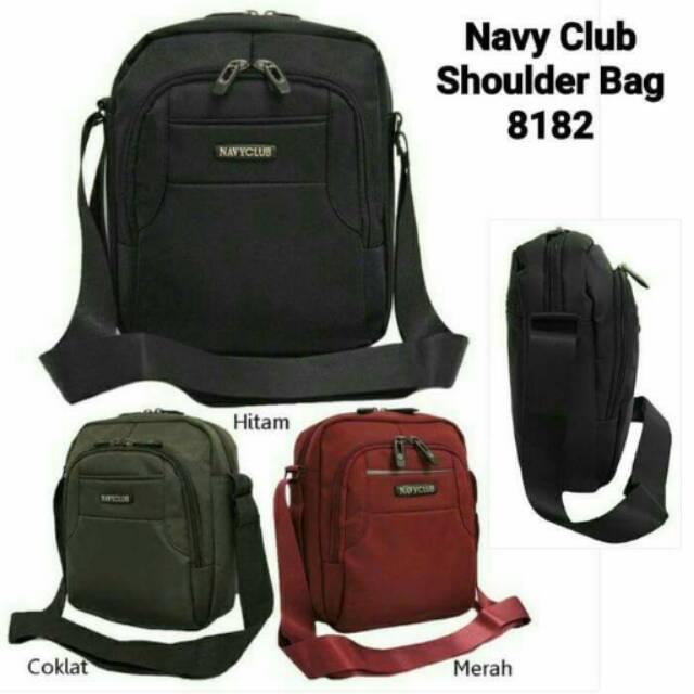 Navy Club Tas Selempang Tablet Ipad Up to 7 Inch Tahan Air - Tas Pria Tas