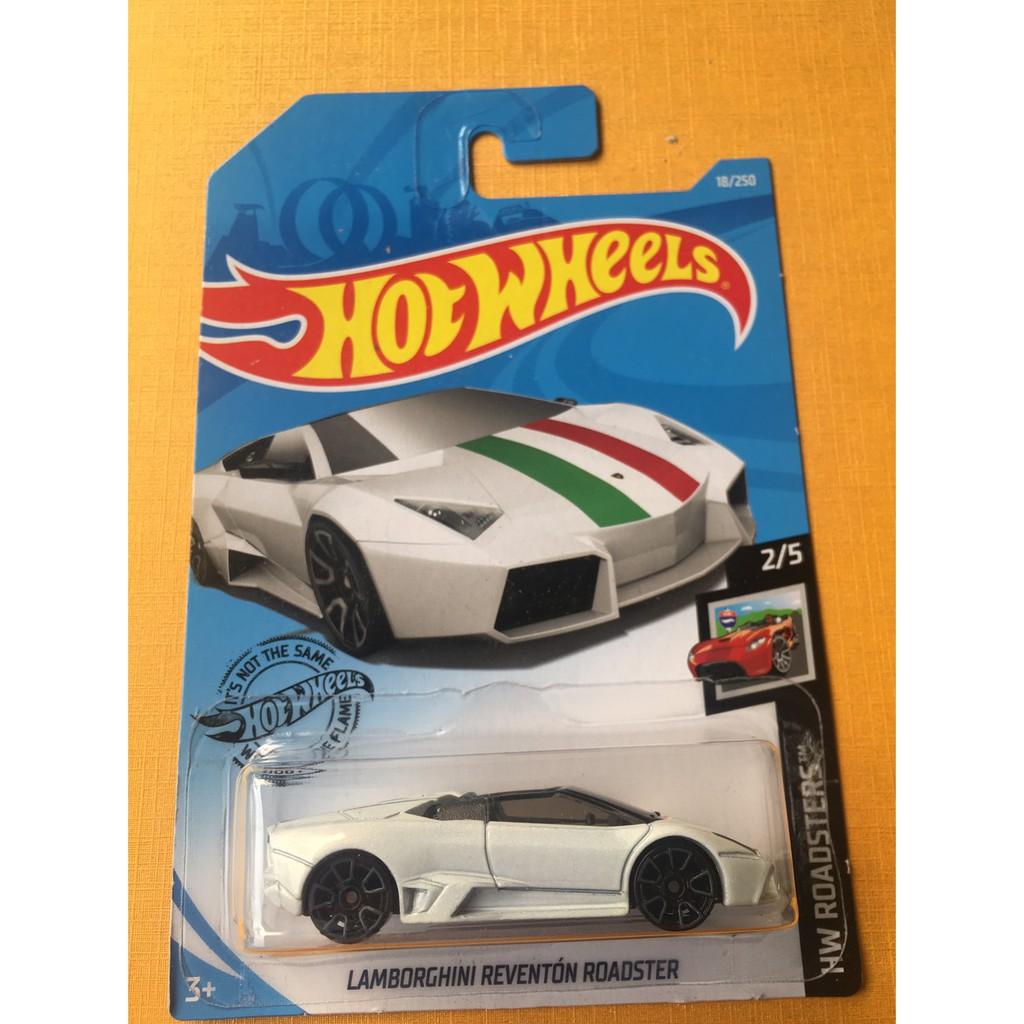 Hot Wheels Hotwheels Lamborghini Reventon Roadster Putih Sport Car Diecast Track Langka Promo Murah Shopee Indonesia