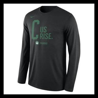6a4da9999 Dcok T-Shirt Kaos Basket Nba Boston Celtics Nike Nba Playoffs Mantra Legend  - Hijau