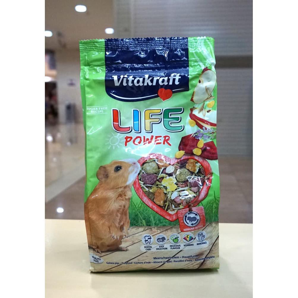 Jual Vitakraft Life Power Guinea Pig 600 Gr Makanan Marmut Limited
