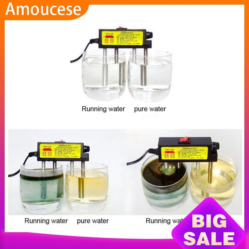 Electrolyzer Quick Water Quality Testing Electrolysis Iron Bars TDS Tester