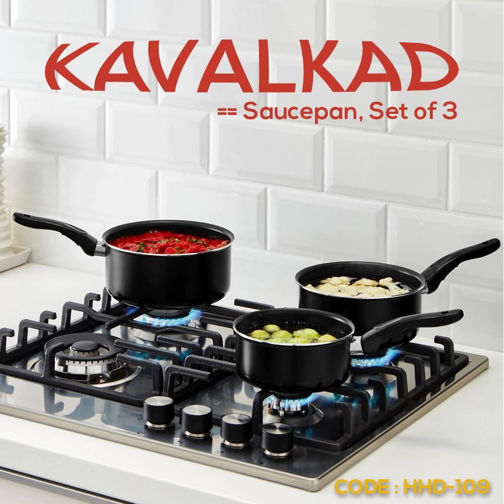 HHD-95 | Gnarp - Set 3 Unit Peralatan Dapur Masak Warna Hitam - Spatula
