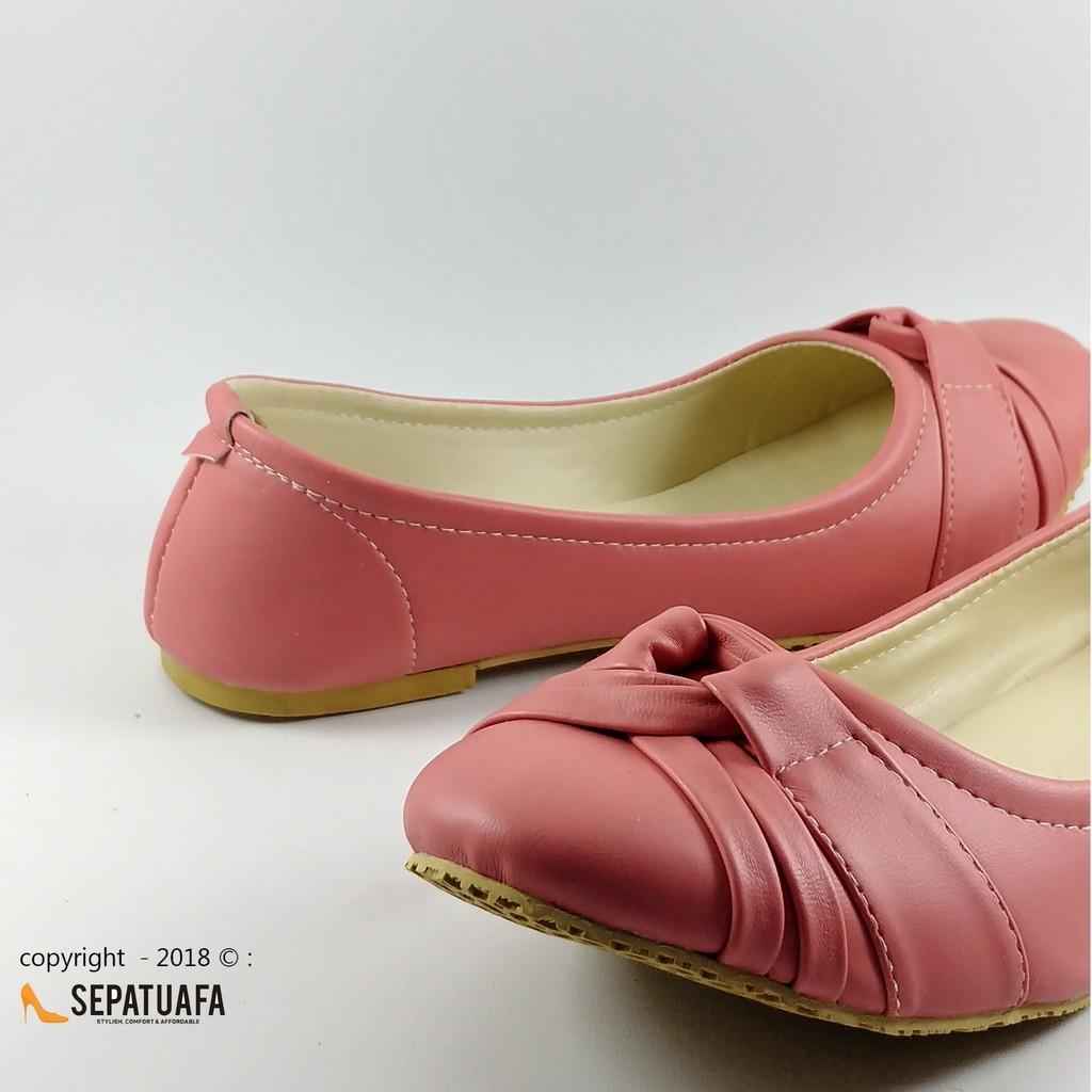 Sepatuafa - Flat Shoes Sepatu Teplek Fanny AS24 - Cream  7453f81900