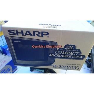 Microwave Sharp R 222y W Shopee Indonesia