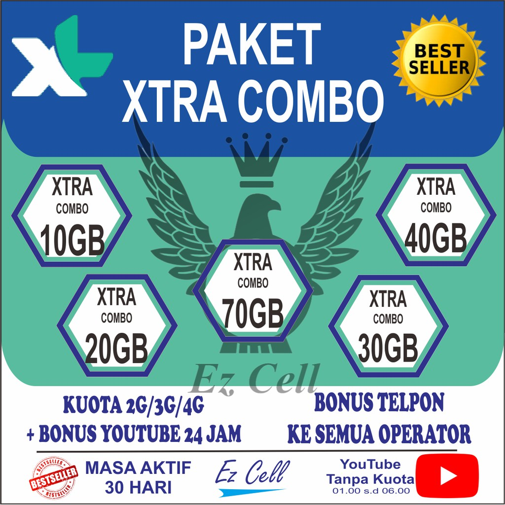 Xl Paket Data Kouta Internet Combo Xtra 5gb 10gb 15gb 20gb Perdana Indosat Kuota 35gb 15 20 Gb 4g 24 Jam Shopee Indonesia