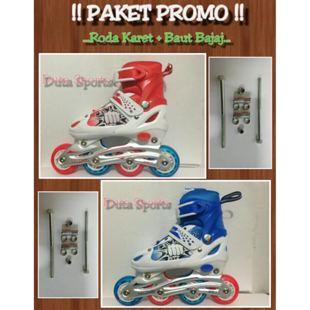 Sepatu Roda Roda Karet Harga Murah Powerline 6032 J ( Mix Color ... 1deecdbd7f