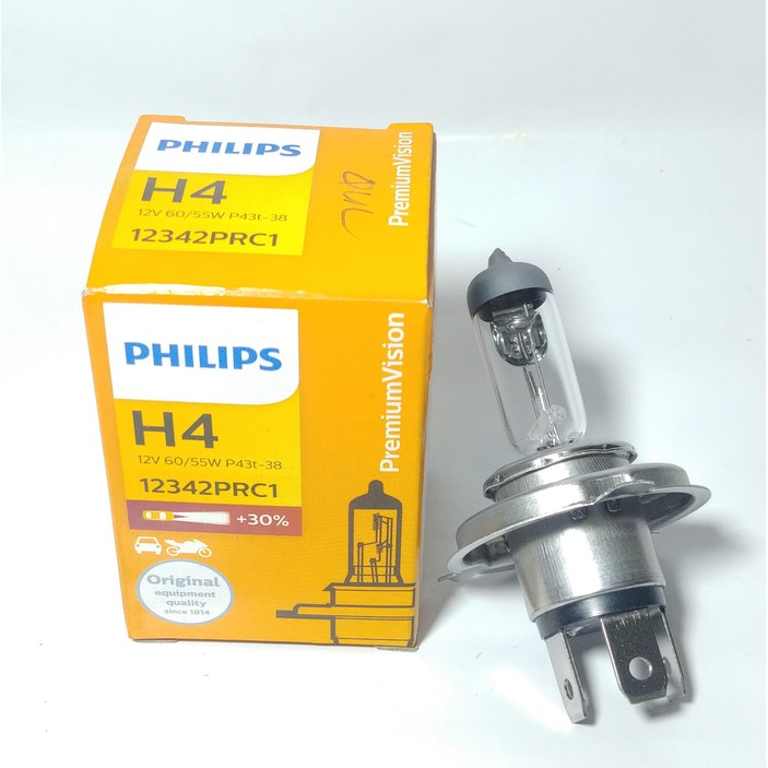 Bohlam Halogen H4 GE General Electric 12V 60/55W P43t-38 Lampu Mobil Original Made In Hungary | Shopee Indonesia