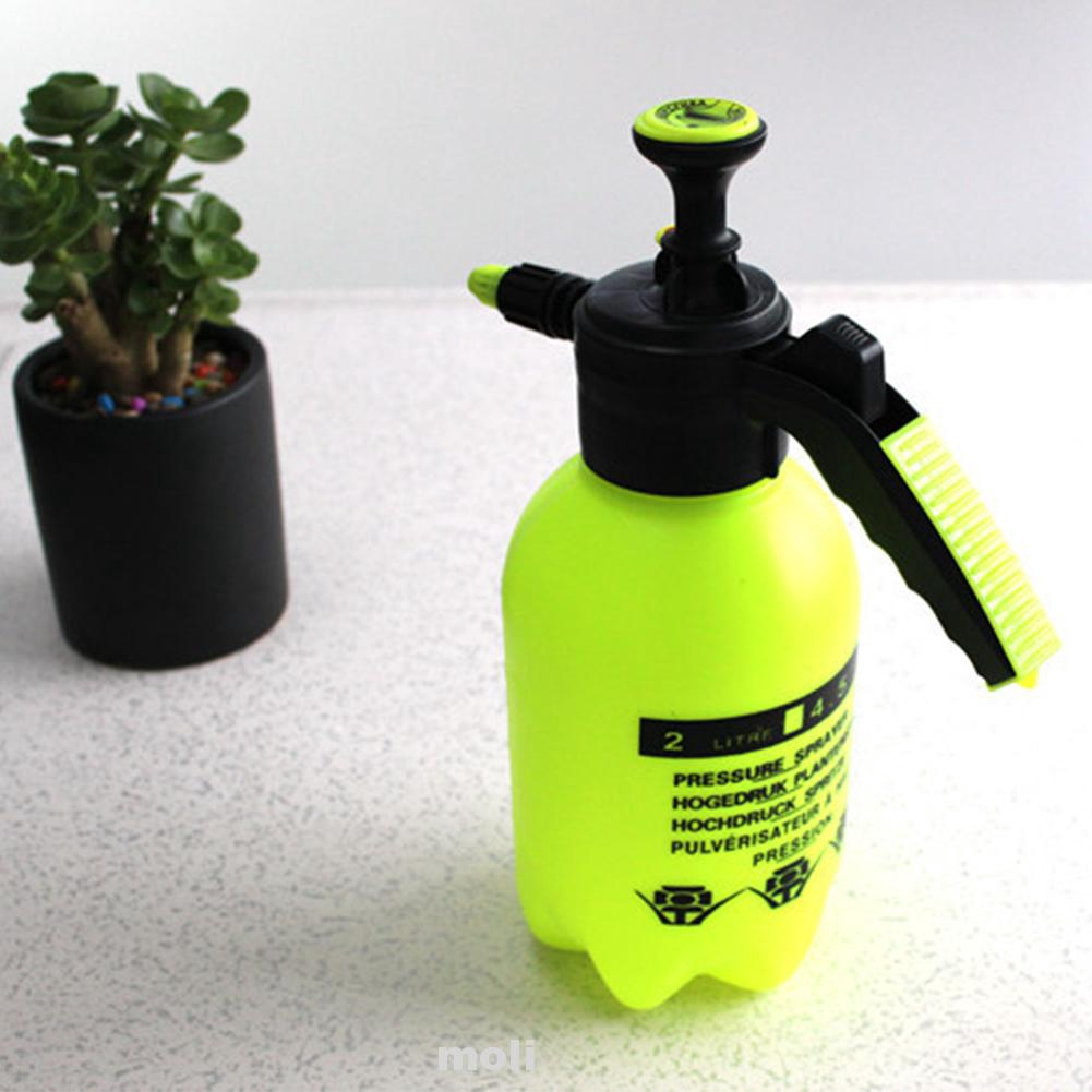2L Cleaning Hand Pressure For Irrgation Household Outdoor Spray Bottle