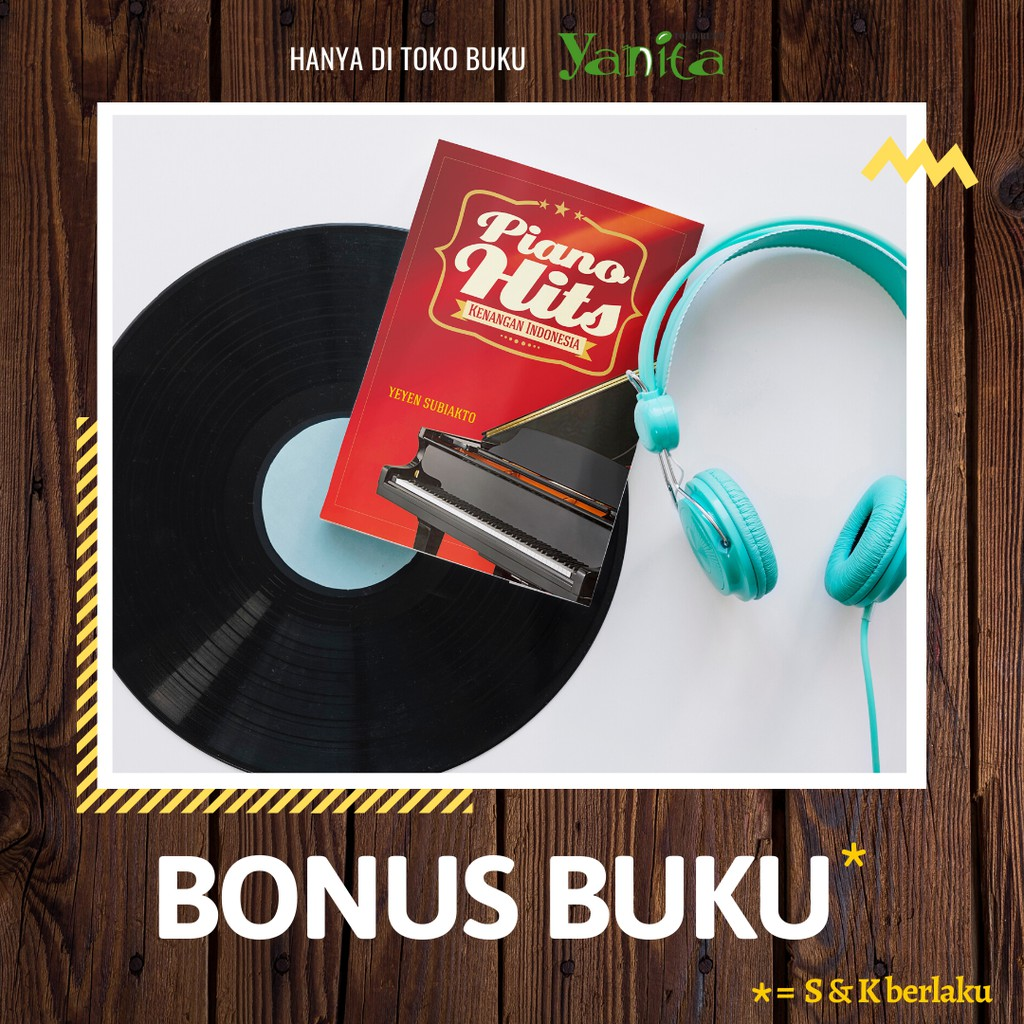 buku musik lagu piano hits kenangan indonesia shopee indonesia