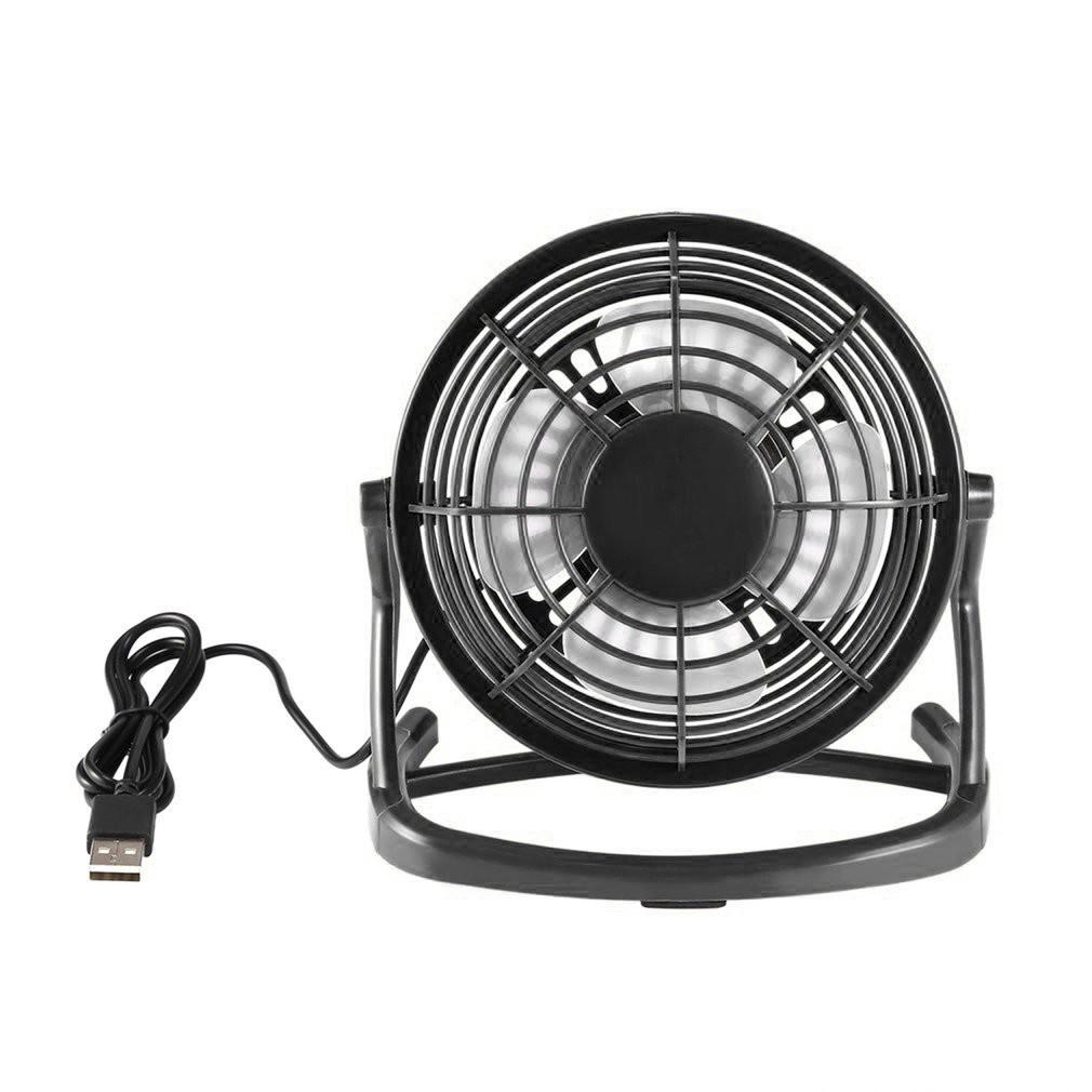 """6/"""" Metal Super Mute Portable Mini USB Cooling Desk Fan Cooler PC Laptop Computer"""
