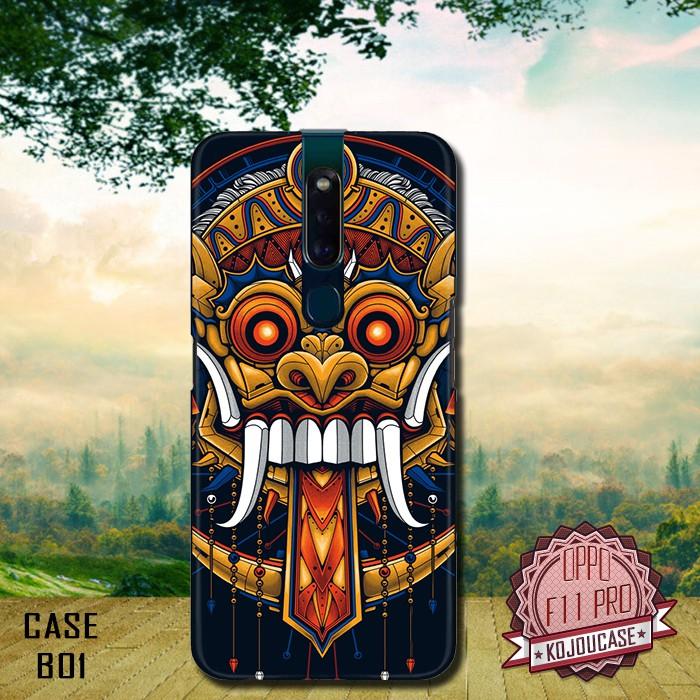 Custom case 3D HP Oppo F11 Pro motif Barong Bali