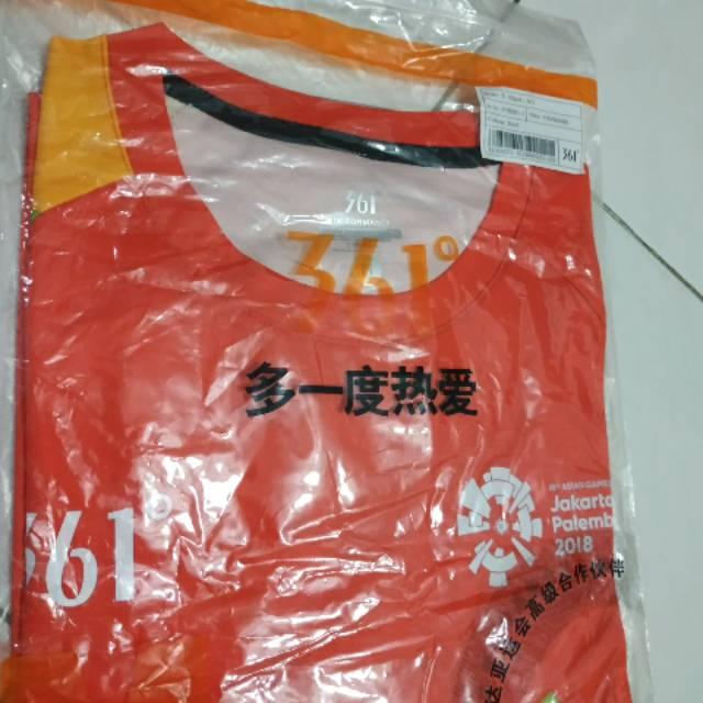 T-Shirt Volunteer Asian Games 2018 Jakarta-Palembang